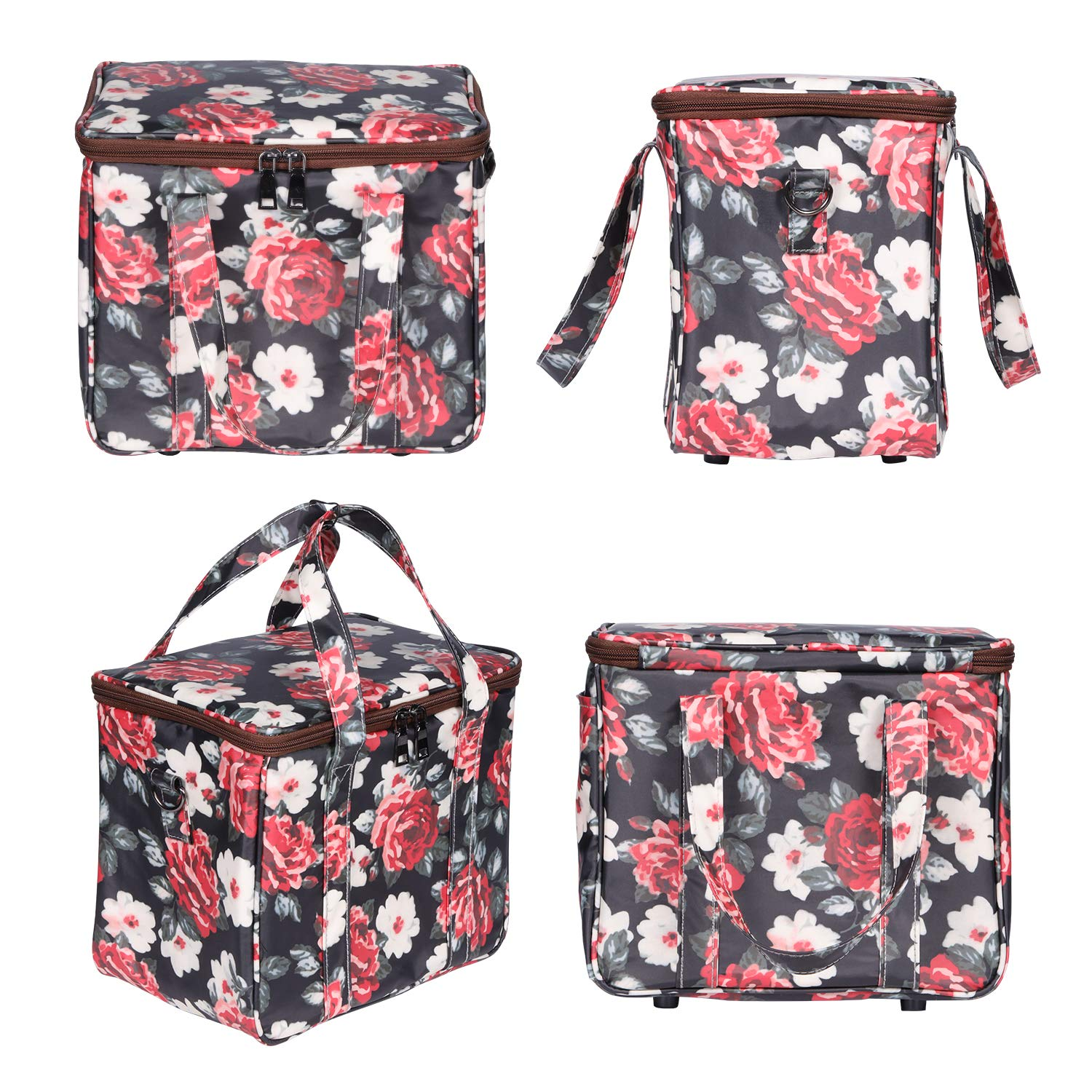 Lunch Bags for Women,Kwartz Insulated Lunch Box Large Capacity Cooler Tote Bag Thermal Leak Proof Liner Lunch Organizer for Women Picnic Hiking Beach Working