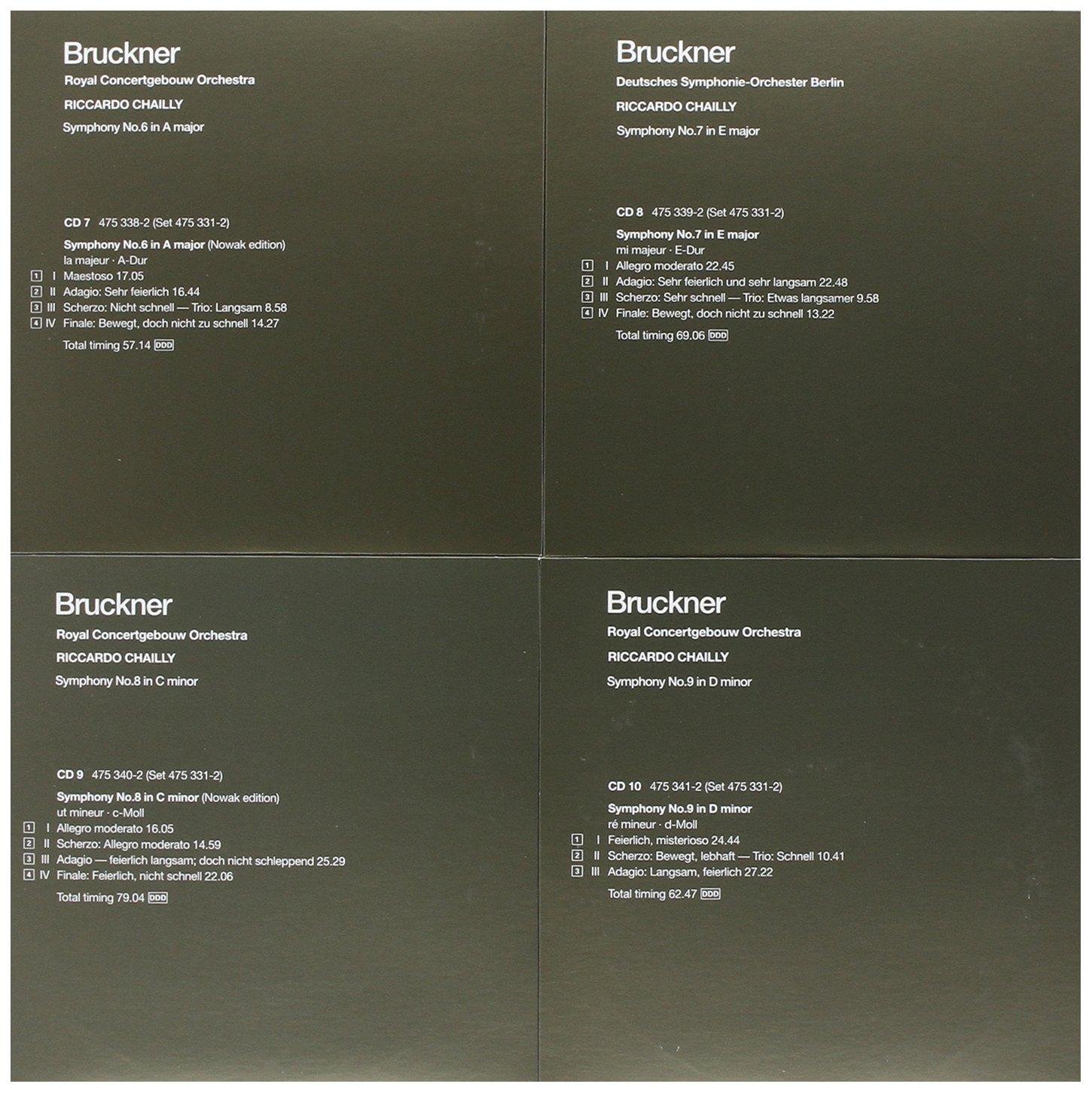 Bruckner: The Symphonies by Decca