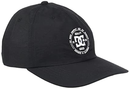 DC Shoes Couch Tender Gorra, Hombre, Negro (Anthracite Solid), Talla Única