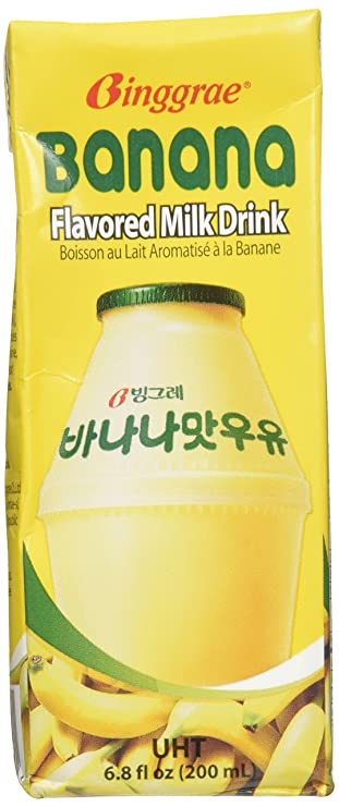 Binggrae Banana Flavor Milk 6 Pack Amazon Com Grocery Gourmet Food