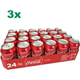 Coca Cola Original classic XXL-Paket (72x0,33l Dosen)