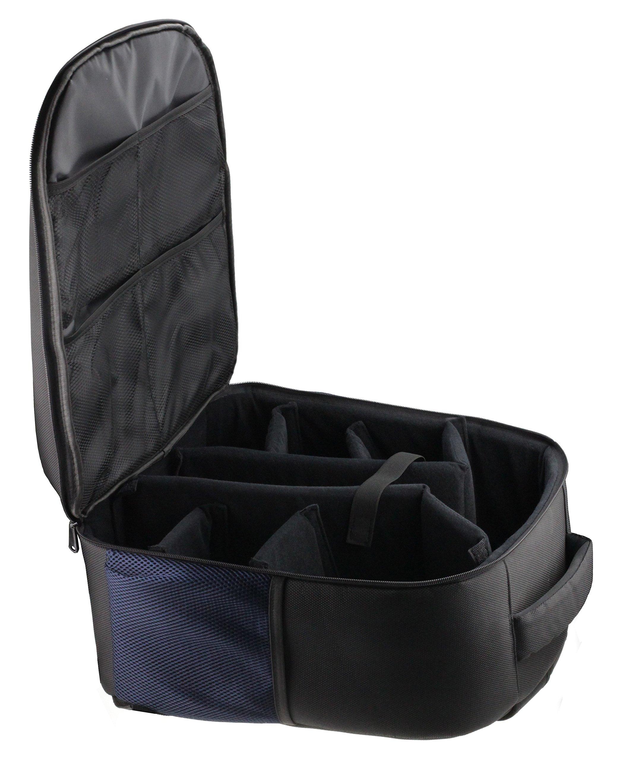 Navitech Rugged Black Backpack/Rucksack for The Oculus Rift + Oculus Touch Controller by Navitech (Image #3)