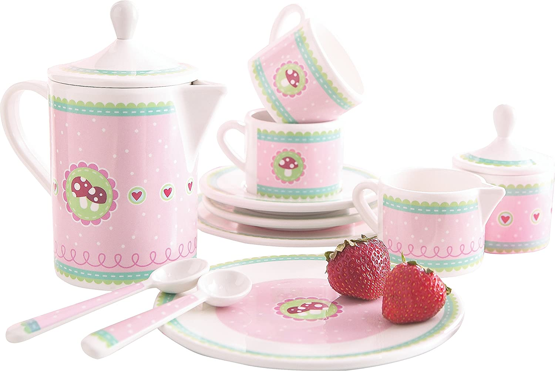 Teeservice Kinder - HABA Melamingeschirr Glückspilz