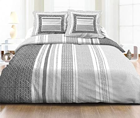 3-Piece Duvet Cover Set, 100% Cotton, 57 Threads/cm², for Double or ...