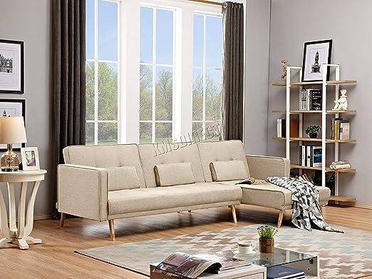 Westwood FSB05 - Sofá Cama reclinable en Forma de L con 3 ...