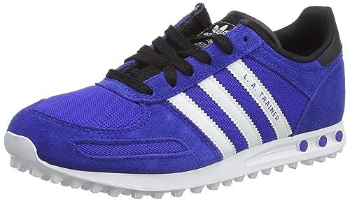 adidas La Trainer K Scarpe per Bambini, Ragazzo, (Bold Blue/Ftwr White