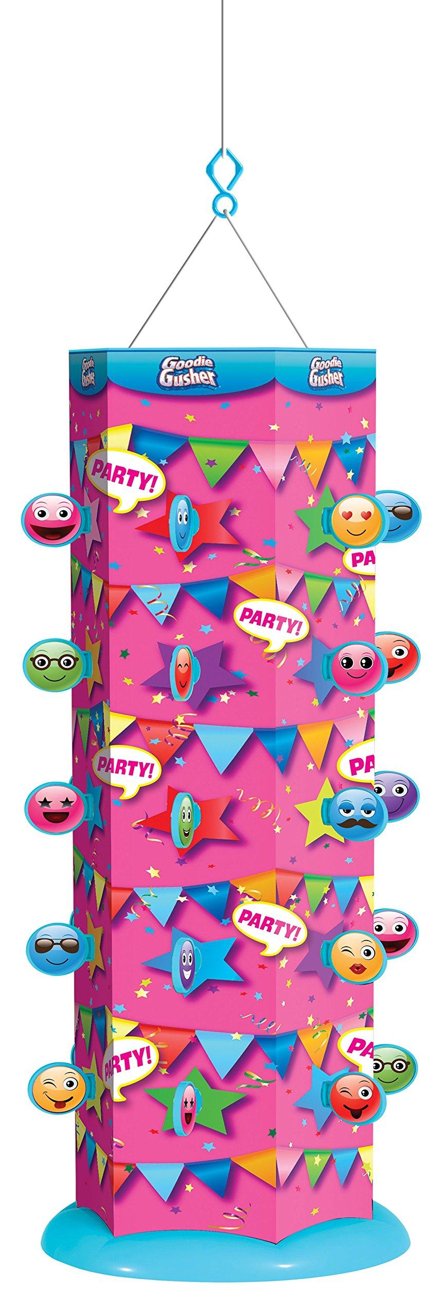 Goodie Gusher Reusable Party Piñata, Pixie Pink Emoticon