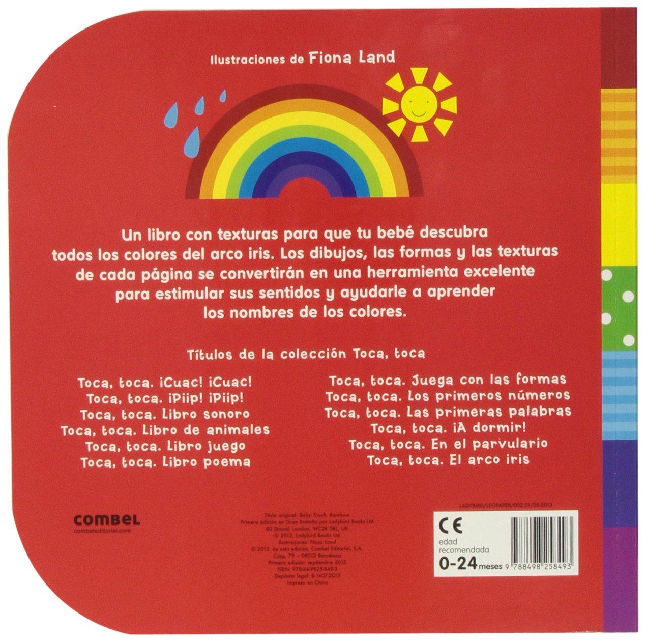 El arco iris (Toca, toca): Amazon.es: Fiona Land, Georgina Mercader ...