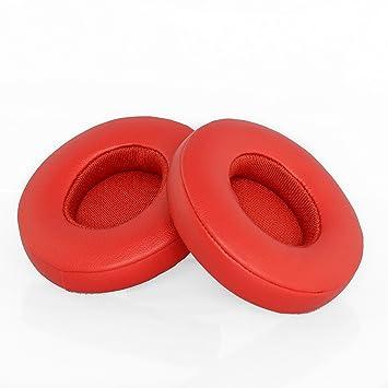 Almohadillas de repuesto para auriculares Beats Solo 2 y Solo 2 inalámbricos Beats-Solo-2/3-RED rosso: Amazon.es: Electrónica