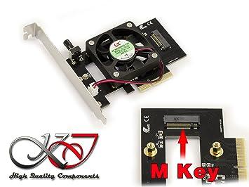 Kalea-Informatique – Tarjeta controladora PCIe x4 para SSD M.2 PCIe – Speciale Samsung pm951 Sm951 950 Pro 960 – con refrigeración
