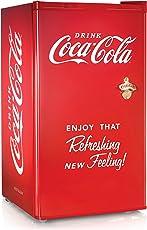 Nostalgia Electrics RRF300SDBCOKE Refrigerador compacto Coca-Cola Series, 3.2 pies cúbicos