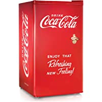 Nostalgia Electrics RRF300SDBCOKE Compact Refrigerator Coca-Cola Series, 3.2-Cubic Foot