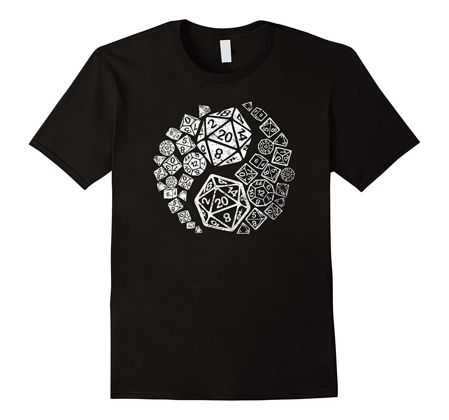 Official Yin Yang Good and Evil Epic Gaming Dice T-shirt-CD