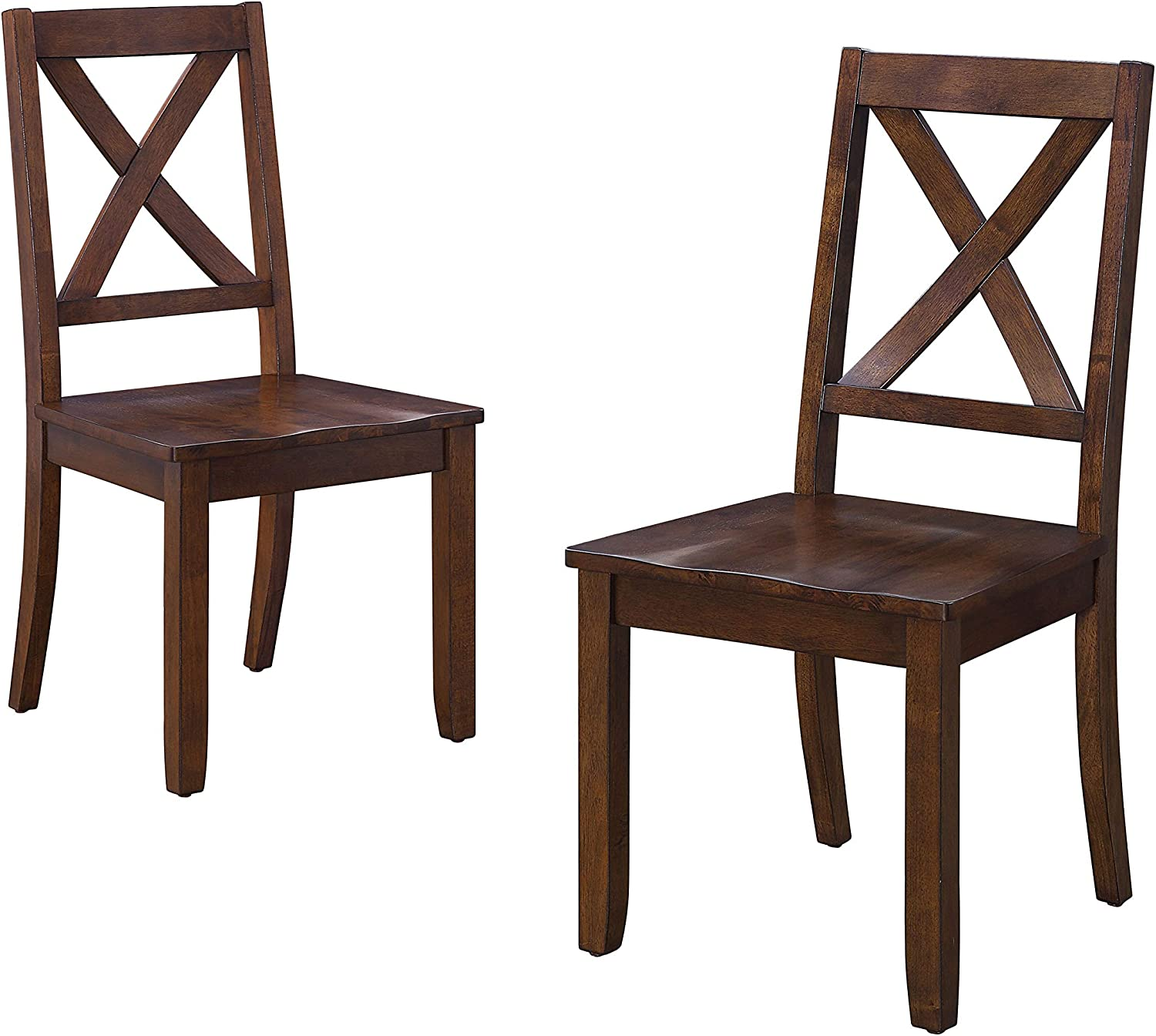 Amazon Com Maddox Crossing Dining Chairs Multi Step Set Of 2 Better Homes Gardens Mocha Kitchen Dining