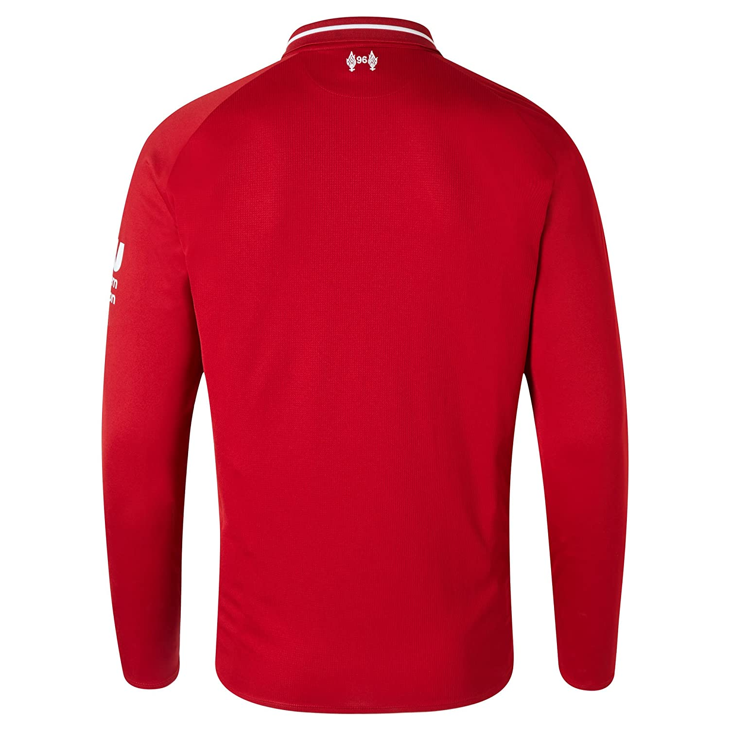Liverpool FC 18 19 Home L S Football Shirt - Red  Amazon.co.uk  Clothing 62e14c474