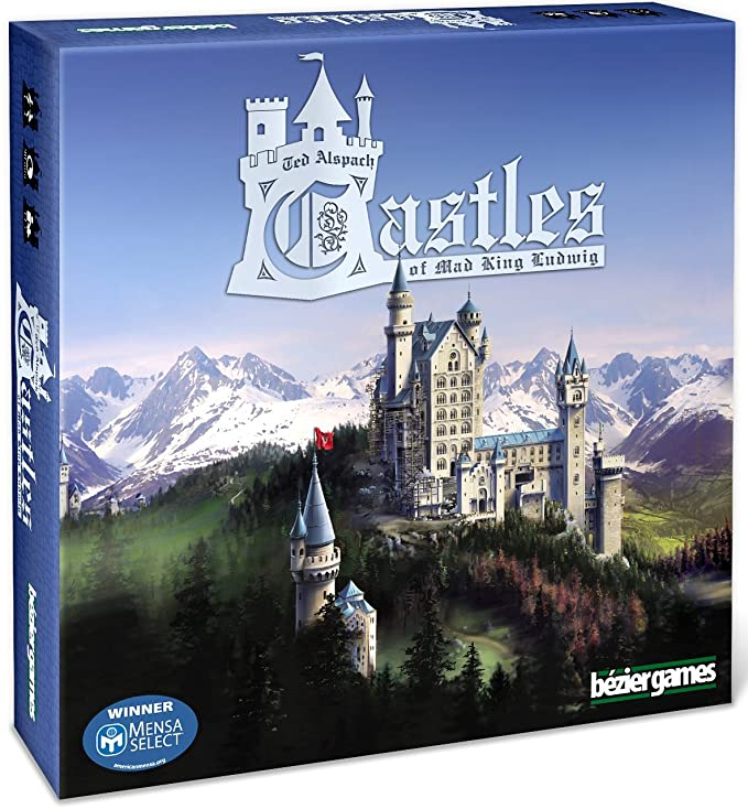 Bezier Games BEZ00011 - Castles of Mad King Ludwig, Brettspiele