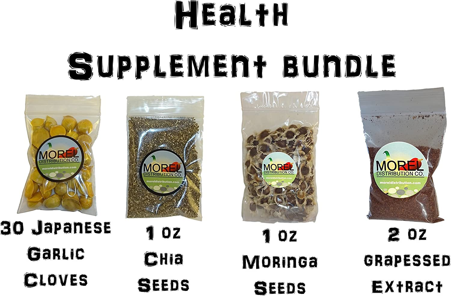 Amazon.com: Health Supplement Bundle! (Japanese Garlic+CHIA+ ...