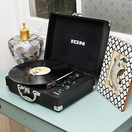 ION Vinyl Motion Air - Giradiscos Bluetooth Portátil Estilo ...