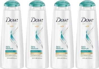4-Pack Dove Nutritive Solutions Shampoo, Daily Moisture, 12 oz