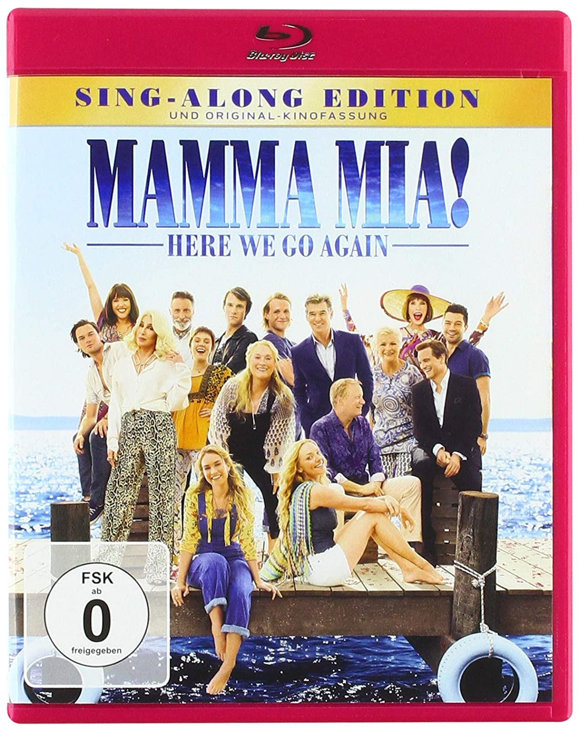 Mamma Mia! Here We Go Again [Alemania] [Blu-ray]: Amazon.es ...