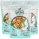 nu3 Low Carb Rice aus Konjak-Glucommanan (kalorienarm), 3 x 200g - Reis ohne Kohlenhydrate, nur 14 Kalorien je Packung