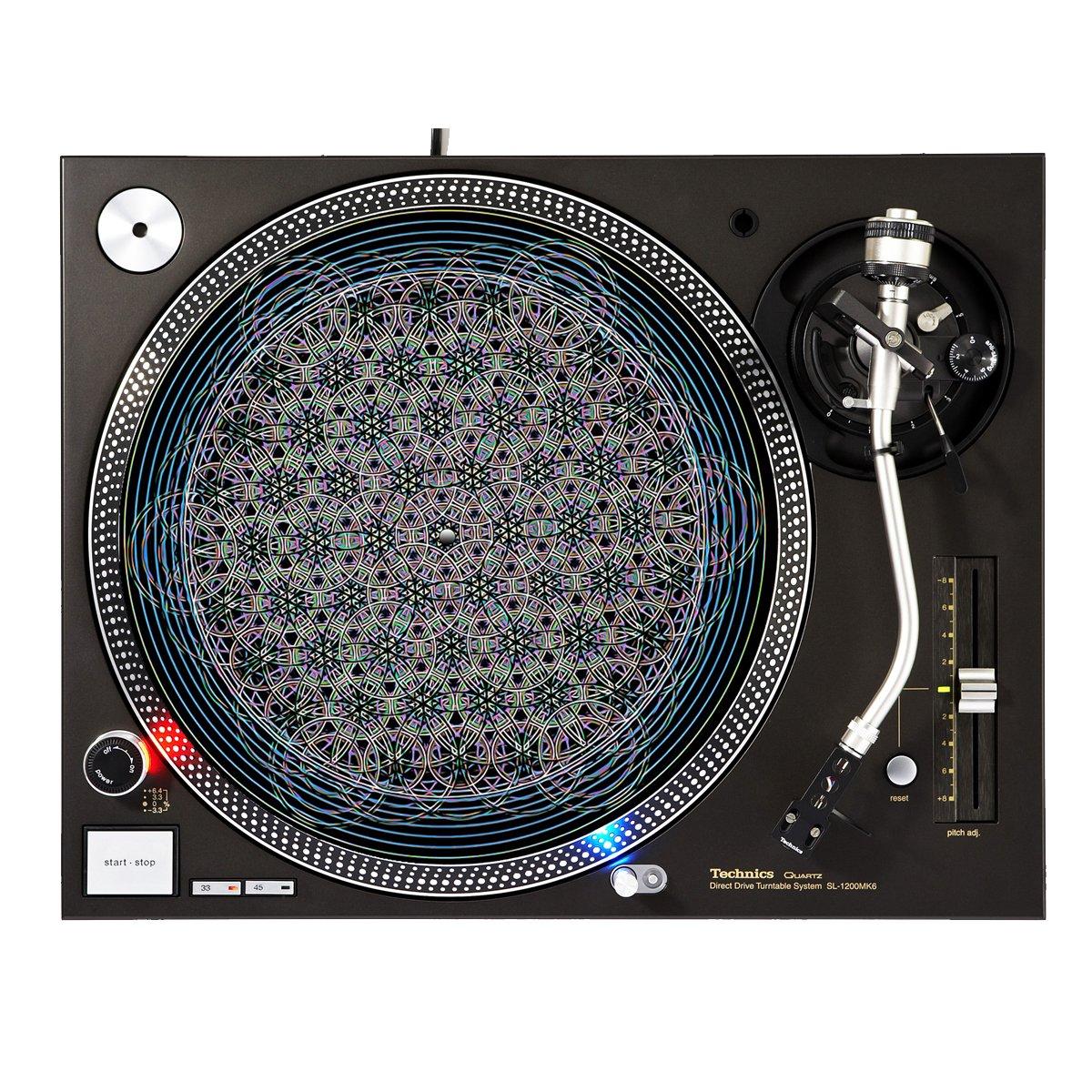 Communication - DJ Turntable Slipmat Sunshine Design Cases Slipmat-257