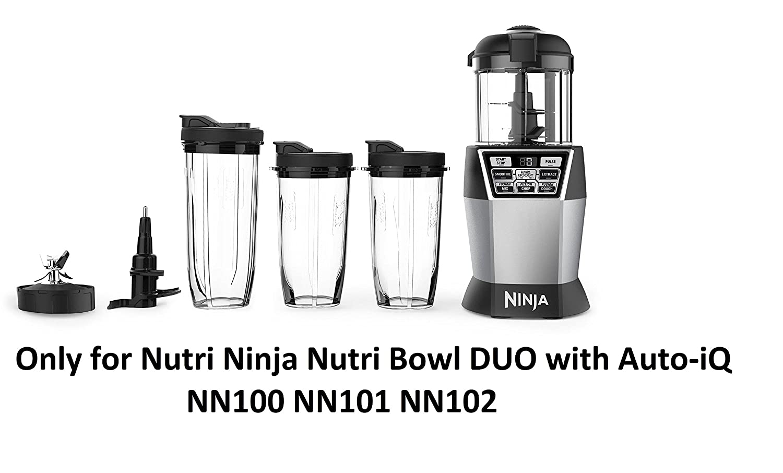 Auténtica cuchilla para nutri Ninja Nutri cuenco Duo con ...