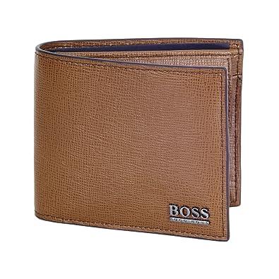 Hugo Boss - Cartera para Hombre de Otra Piel Hombre, Color marrón, Talla Talla única: Amazon.es: Zapatos y complementos