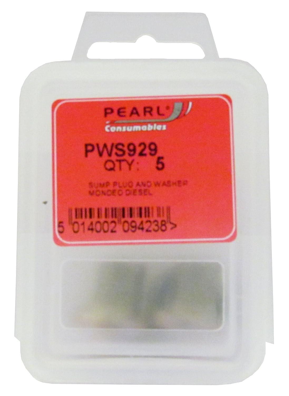 Pearl Automotive Pws929 Bouchon de vidange Rondelle/Lot de 5