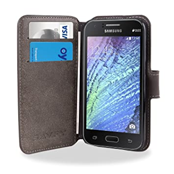 Kamal Star® FOR SAMSUNG GALAXY Core Prime G360F /G360H PU Leather Wallet Magnetic Flip Case Cove