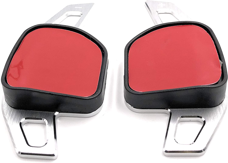Onwomania Schaltwippen Dsg Shift Paddle Für A1 8x A3 8v A4 8k B9 A5 4g C7 A6 C7 A8 4h D4 Q7 4l Silber Aluminium Auto