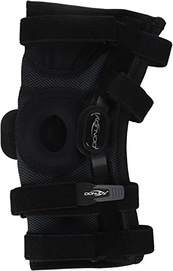 45ef9f866b Amazon.com: DonJoy Playmaker II Knee Support Brace with Patella ...