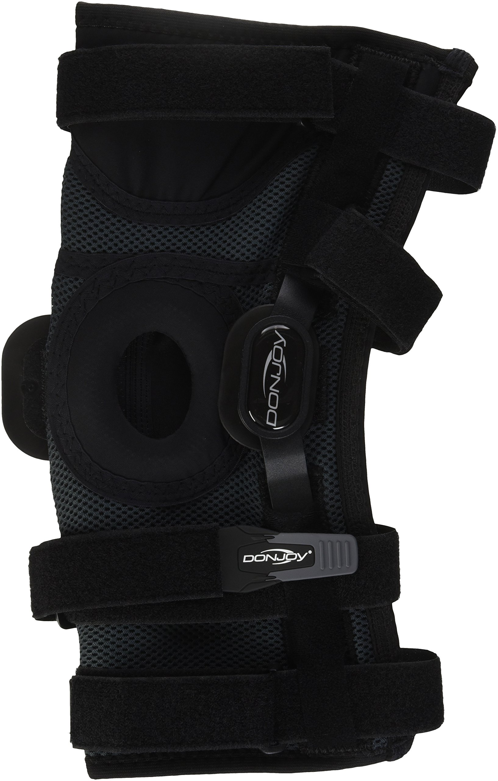 b8900d1e93 DonJoy Playmaker II Knee Support Brace with Patella Donut: Spacer Sleeve,  Large