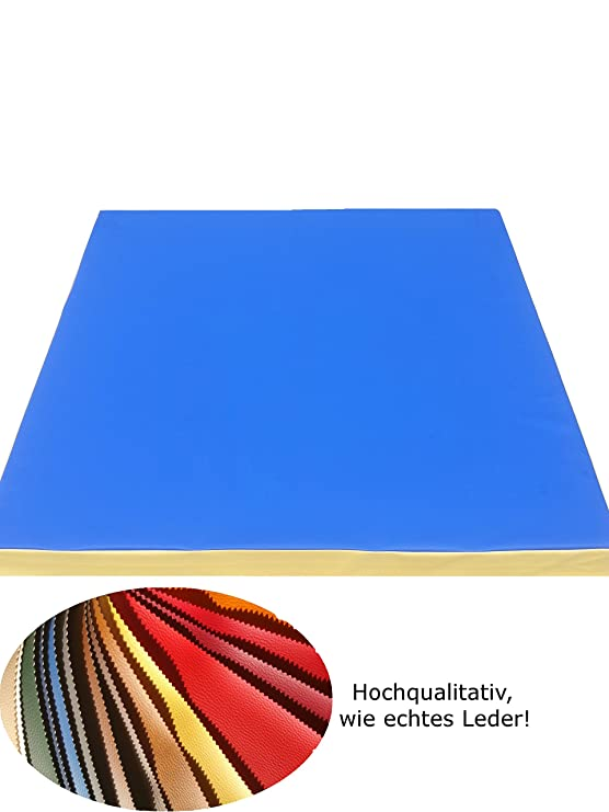 NiroSport - Alfombrilla de Gimnasia (100 x 100 x 8 cm ...