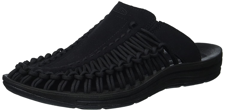 KEEN Women's Uneek B(M) Slide-w Sandal B01H8I9QWY 10 B(M) Uneek US|Black/Black 4800a5
