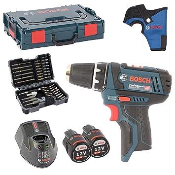 Bosch GSR 10,8 - 2-LI - Taladro (batería Incluye portabrocas ...