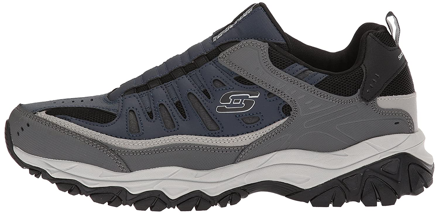 Skechers-Afterburn-Memory-Foam-M-Fit-Men-039-s-Sport-After-Burn-Sneakers-Shoes thumbnail 71