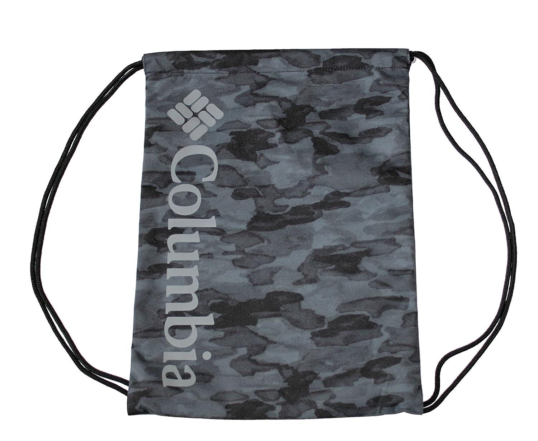 Columbia巾着バッグ(ブラックカモ) B07DNQ4HYY