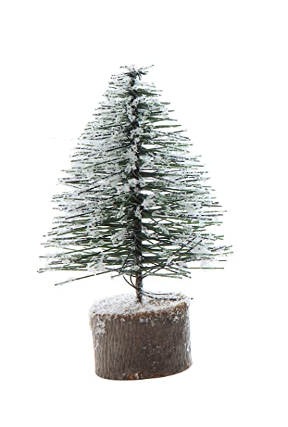 fbc1e973ab95 Amazon.com  Creative Co-Op Medium Artificial Tree with Wood Base in ...