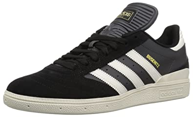 the latest 92dd7 c7fd5 adidas Mens Busenitz Skate Shoe core Black, Chalk White, DGH Solid Grey 4 M