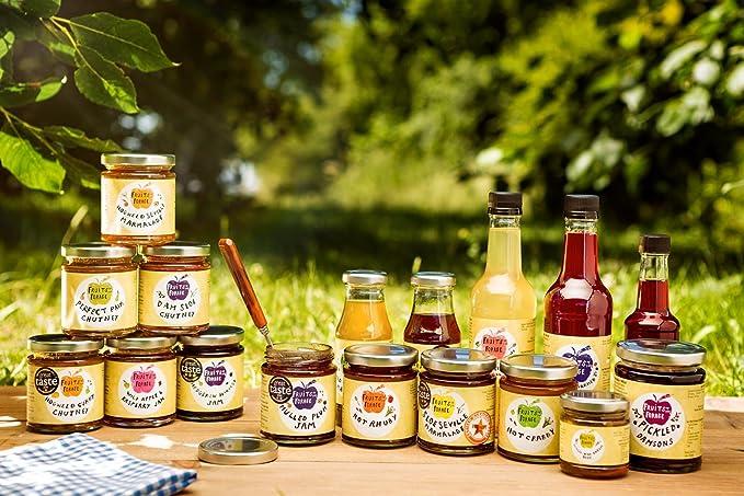 ... frutos rojos como arándanos, ciruelas y moras | Botella de 330ml |100% naturales | Perfecto para vinagretas, ensaladas y salsas hechas en casa | Sabor ...