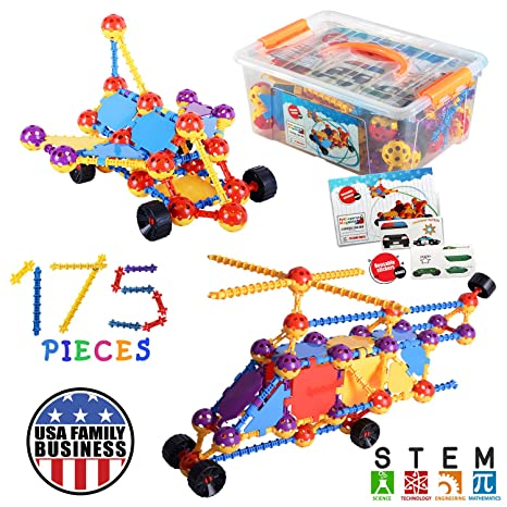 Amazon Com Kids Education Construction Toys Connecting Building
