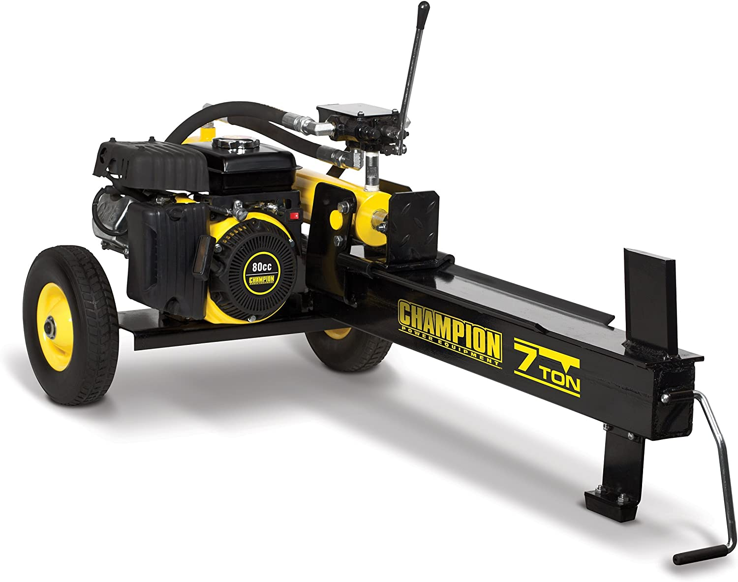 5. Champion 7-Ton Compact Horizontal Gas Log with Auto Return