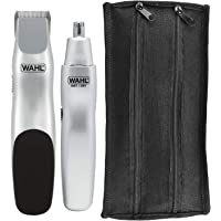 Wahl Groomsman Battery Powered Beard, Mustache, Hair & Nose Hair Trimmer for Detailing & Grooming - Model 5621