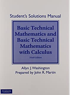 Basic technical mathematics with calculus 9th edition allyn j student solutions manual for basic technical mathematics with calculus fandeluxe Choice Image