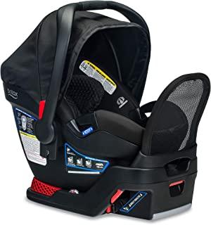 product image for BRITAX B-Safe Endeavours Infant Car Seat - Rear Facing | 4 to 35 Pounds - Reclinable Base, 3 Layer Impact Protection, Midnight (E1A539E)