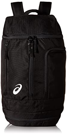 Amazon.com : ASICS Tm X-Over Backpack, Black/Black, One Size : Sports & Outdoors