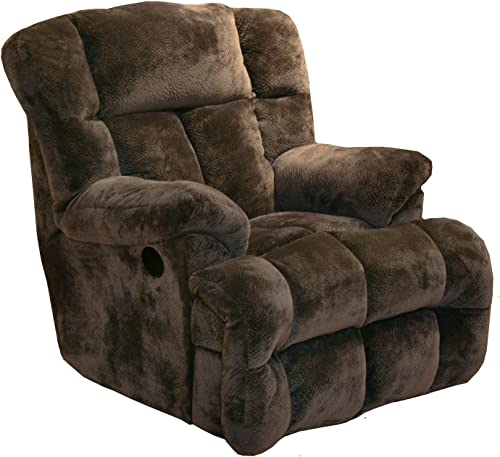 Catnapper Cloud 12 Power Chaise Recliner – Chocolate
