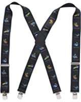 "Suspender Station Mens 2"" Trout Images Suspenders"