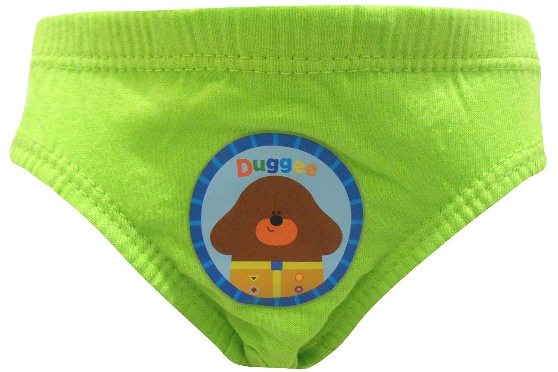 Hey Duggee Badges Boys 6 Pack Briefs Underpants